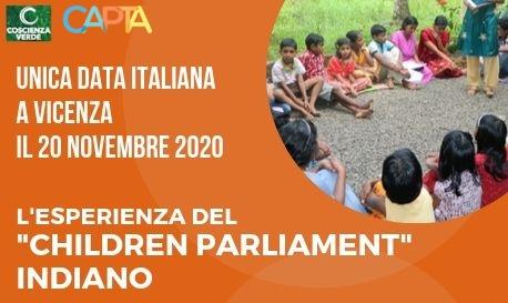 Completare la Democrazia: l'esperienza del Children's Parliament @ Fondazione Capta Onlus